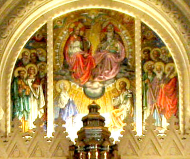 Holy Trinity mosaic at Holy Hill Basilica
